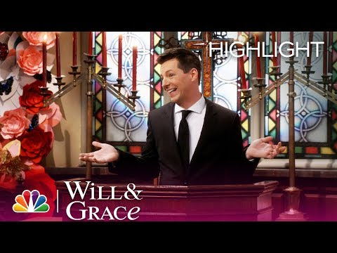 Will & Grace  Jack Says Goodbye to Rosario Episode Highlight