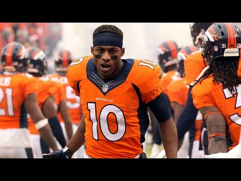 Emmanuel Sanders 2015 Highlights || Super Bowl Champ ||