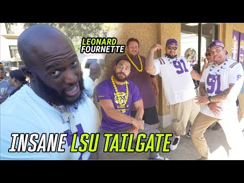 We Went To The LSU Vs ALABAMA TAILGATE! Got LIT With KARDELL THOMAS & LEONARD FOURNETTE 😱