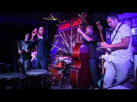 Marcio Abdo no Little Lou's Blues Jam Thur July 6, 2017 San José Califórnia