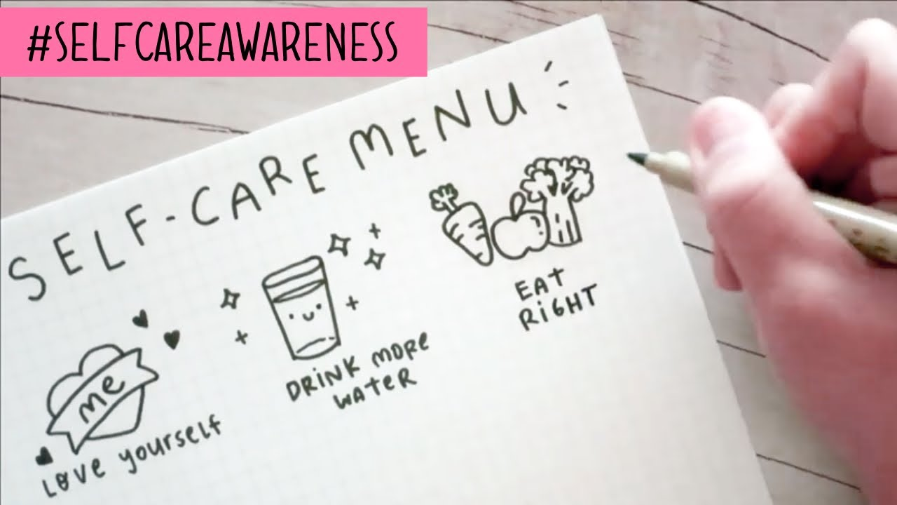 Self-Care Awareness Month | Doodles by Sarah