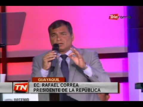 Correa firmó decreto para cumplimiento de objetivos del decenio afrodescendientes