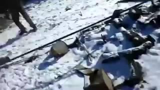 Подрыв танка ДНР на мине 18   Tank hit a mine