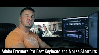 Best Keyboard and Mouse Shortcuts for fast editing in Adobe Premiere Pro CC 2018