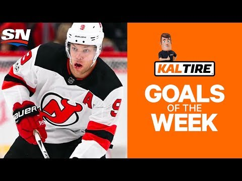 NHL Goals of The Week: Week 6 Edition