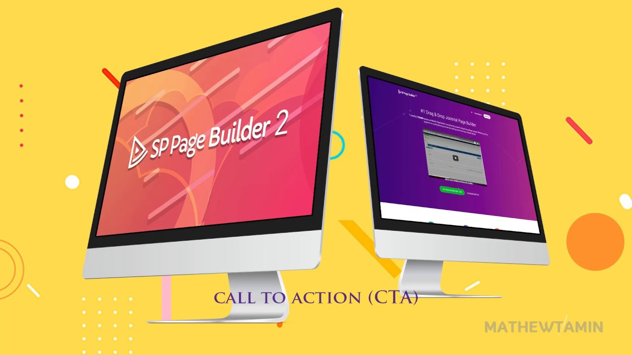 SP Pagebuilder 2 Tutorial - Call to action