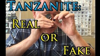Video How to Tell if Tanzanite is Real or Fake download MP3, 3GP, MP4, WEBM, AVI, FLV September 2017