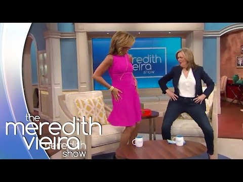 Hoda and Meredith Show Off Their Dance Moves!   The Meredith Vieira Show