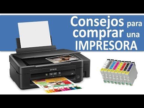 ¿QUÉ IMPRESORA COMPRAR? Tinta, Laser, multifunción, Color, Monocromo... (en Español)