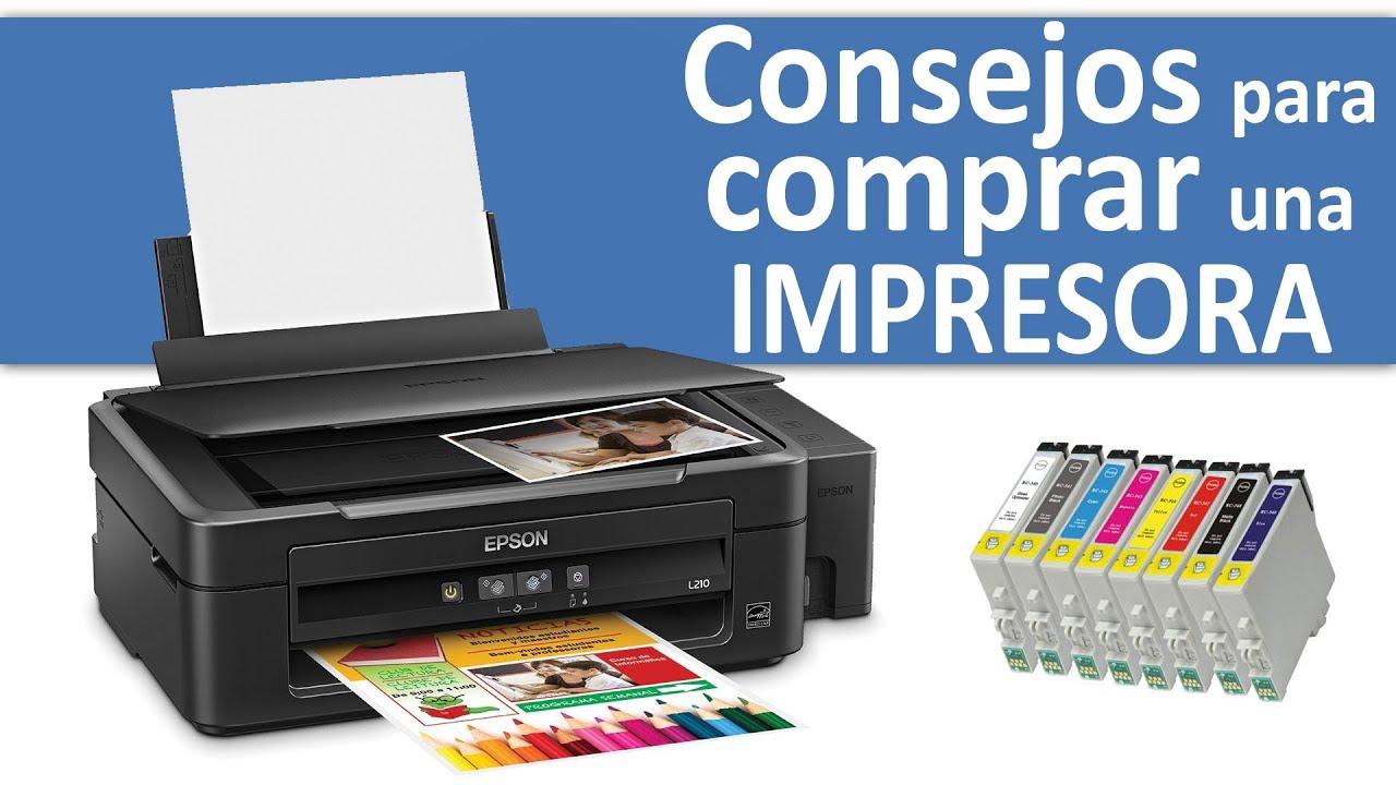 QUÉ IMPRESORA COMPRAR? Tinta, Laser, multifunción, Color, Monocromo ...