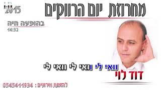 דוד לוי - מחרוזת יום הרווקים קריוקי רשמי