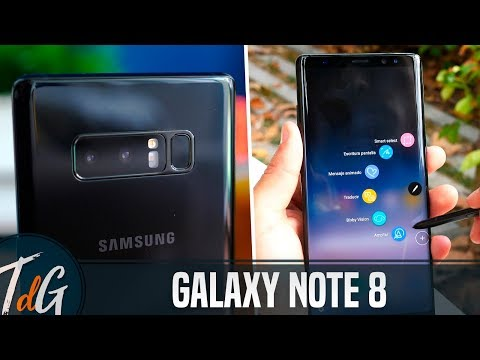 Samsung Galaxy Note 8, REVIEW en español