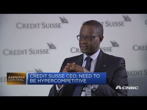 Credit Suisse CEO on competition in wealth management industry | Squawk Box Europe