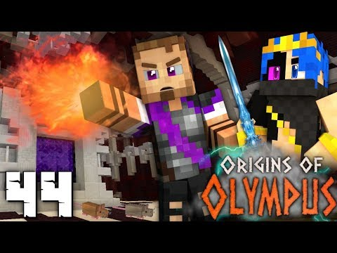 Origins Of Olympus: THE MISSING BOOK! (Percy Jackson Minecraft Roleplay SMP)
