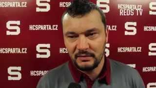 Tisková konference HC Sparta Praha sledge hokej
