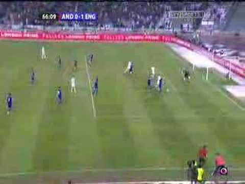 Gerrard dives against Andorra