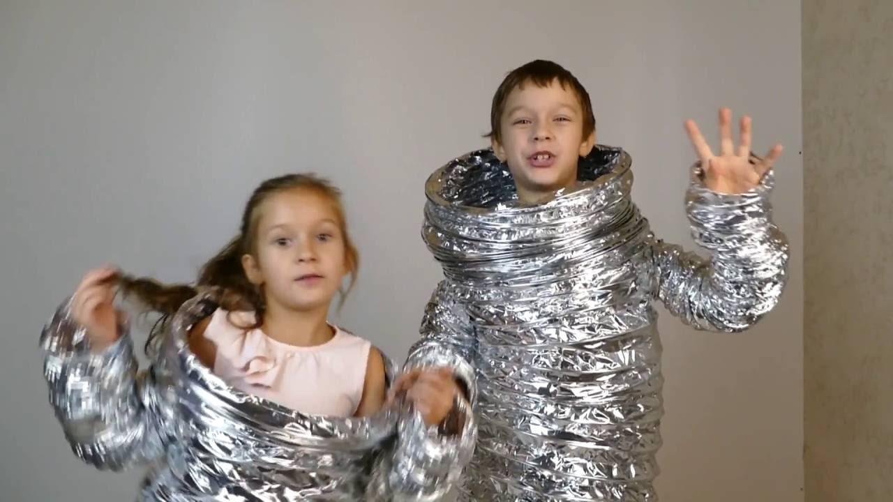 Смотреть Костюм инопланетянина своими руками видео