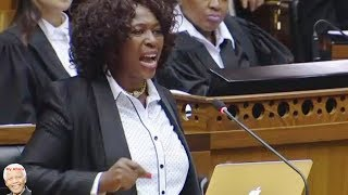 Makhosi Khoza In Trouble With ANC!  Watch Her In Action 2015