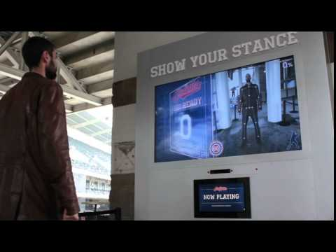 """Show Your Stance"" - Kinect Interactive - Progressive Field - Cleveland, Ohio"