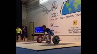 Чемпионат мира по тяжелой атлетике ветераны 2016