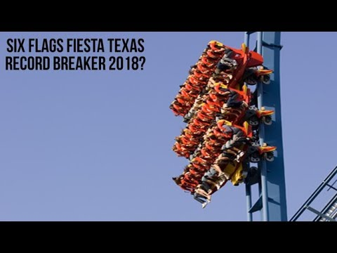 What Six Flags Fiesta Texas Is Doing In 2018 - YouTube
