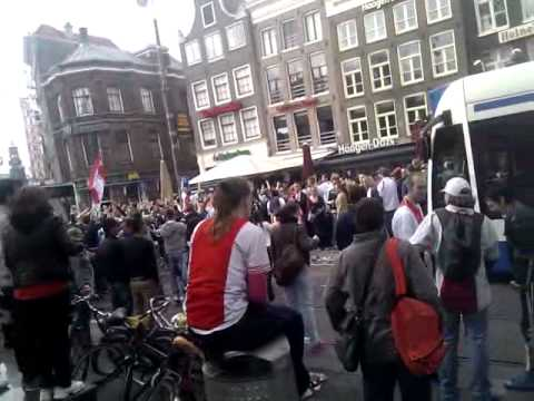 Rembrandtplein - ajax landskampioen 2011