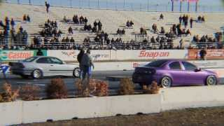 1000+ whp 9 second e36 BMW at Street Wars Englishtown march 2014