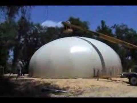 Concrete Forms For Sale >> Dome construction using airform SOLD Port Charlotte ...