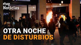 MANIFESTACIONES a favor de HASÉL acaban con DISTURBIOS en Barcelona I RTVE Noticias