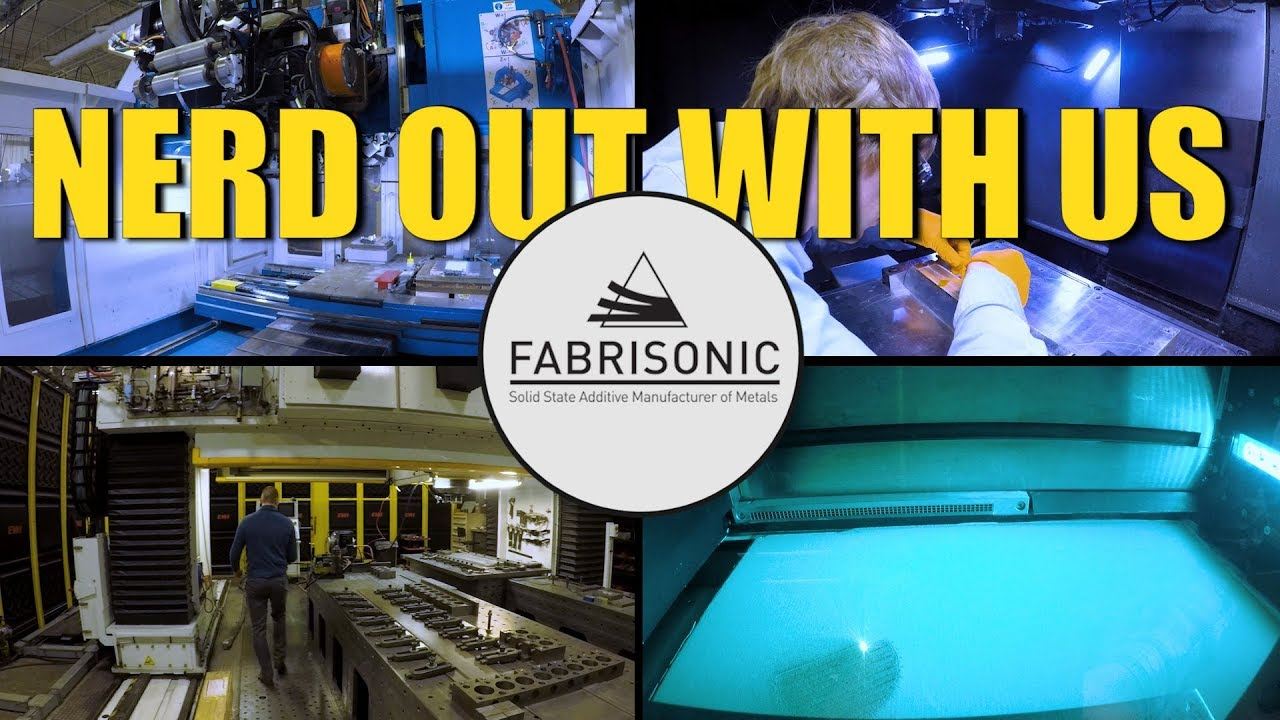 Fabrisonic Tour: Nerd Out With Us!