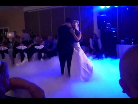 """Best First Dance on clouds to """"My Best Friend"""" by Tim McGraw  at The Seville in Streamwood Illinois"""