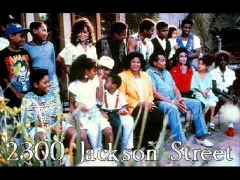 The Jacksons 2300 Jackson street Lyrics on Screen