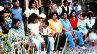 The Jacksons 2300 Jackson street Lyrics on Screen