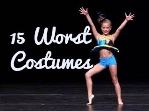 15 Worst Costumes//Dance Moms