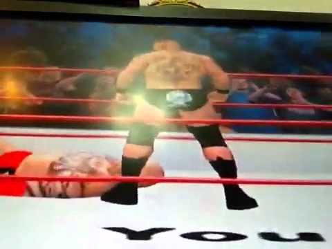 Wwe 12 Brock lesner vs lord tensi
