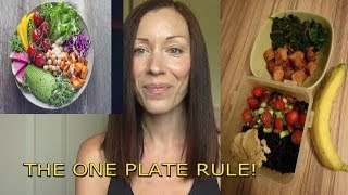 OMAD - ONE MEAL A DAY - THE ONE PLATE RULE!