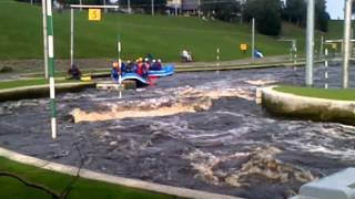 White Water Rafting Training at the Tees Barrage http://www.stocktonteesside.co.uk/