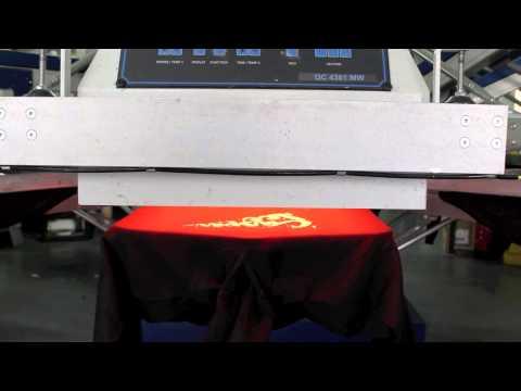 Automatic T-shirt Screen Printing Carousel