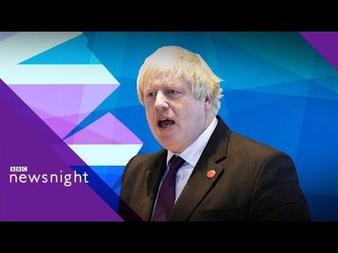 Boris Johnson's burka jibe: Discussion - BBC Newsnight
