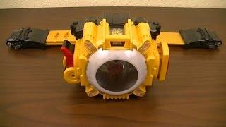 Henshin Belt DX Eyecon Driver G Review (Kamen Rider Ghost)