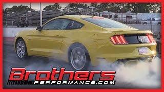2015 Ford Mustang GT Drag Racing Tips From Bradenton Raceway