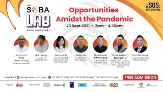 SOBA LAB #SOS: Save Our SMEs Opportunities Amidst the Pandemic