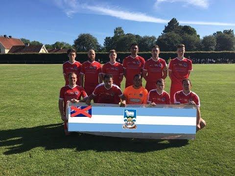 La selección de fútbol de las Islas Malvinas