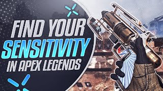 How to IMPROVE YOUR AIM on Apex Legends (FIND YOUR SENSITIVITY)