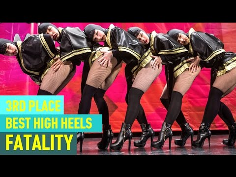 FATALITY —3rd Place, Best High Heels Crew @ RDC15 Project818 Russian Dance Championship