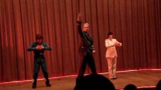 Hetalia cosplay dance(Germany,Italy and Japan) ^O^  ( x-mass anime fest Riga 2009)