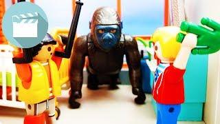 Playmobil Geschichten deutsch | Gorrila flieht aus dem Playmobil Zoo | Playmobil Stories