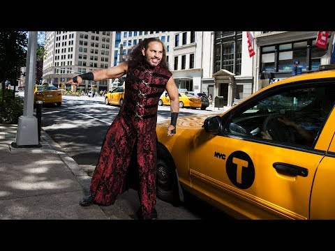 WWE Superstars take over the streets of New York City