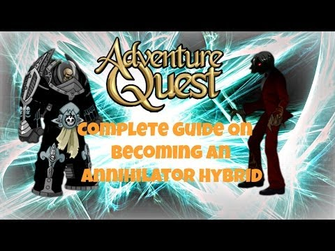 Annihilator Hybrid, The Best Build in Adventure Quest 2013 Full Commentary Guide