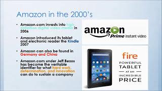 Amazon Company and Founder Summary
